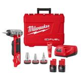 "Milwaukee 2532-22 M12 FUEL ProPEX Expander Kit w/ 1/2""-1"" RAPID SEAL ProPEX Expander Heads"