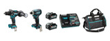 Makita DK0114G203 40V MAX XGT Li-Ion (4.0 Ah) 2 Tool Combo Kit