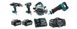 Makita MAK-DK0127G401 40V XGT 4-Tool Combo Kit