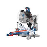 """Bosch GCM18V-12GDCN PROFACTOR 18V Surgeon 12"""" Dual-Bevel Glide Miter Saw (Bare Tool)"""