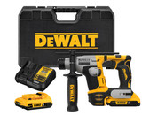 "DeWALT DEW-DCH172D2 ATOMIC 20V MAX Brushless Cordless 5/8"" SDS Plus Ultra Compact Rotary Hammer 2x 2.0Ah Kit"
