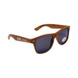 Atlas Machinery ATL-SUNGLASSES Atlas Logo Risky Business Sunglasses - Wood Grain