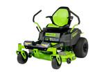 Greenworks Commercial GREEN-RZ42M 82V 42In Residential Ride-On Zero-Turn Mower 6.0Ah Kit