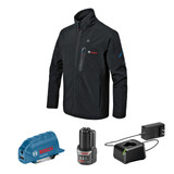 Bosch BOS-GHJ12V 12V Max Heated Jacket Kit with Portable Power Adapter