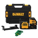 DeWALT DEW-DCLE34020GB 20V MAX Cordless Cross Line Green Laser Bare Tool