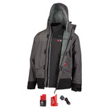 Milwaukee MIL-203RN-21 M12 Heated AXIS Layering System with HYDROBREAK Rain Shell