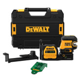 DeWALT DEW-DCLE34520GB 20V MAX Cordless 5-Spot Green Line Laser Kit