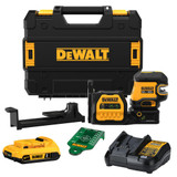 DeWALT DEW-DCLE34220G 20V MAX Cordless 2-Spot Green Line Laser 2.0Ah Kit