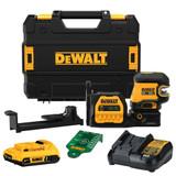 DeWALT DEW-DCLE34520G 20V MAX 5-Spot Green Line Laser 2.0Ah Kit