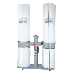 King Industrial KC-5043FX-2 5HP 220V/1PH 4 Bag Dust Collector