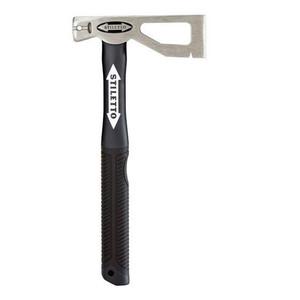 Stiletto Tool LATHAXE10-F 10oz Titanium Lather Roofer Axe