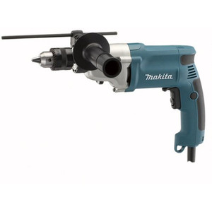 "Makita DP4010 6.6A 1/2"" 2-Speed Variable Speed Drill with Metal Gear Case"