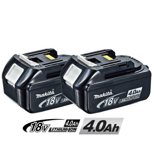 Makita 196406-9 18V 4Ah Li-ion Battery BL1840 (2 PACK)