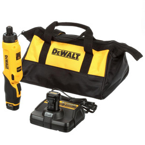 Dewalt DCF680N2 8-Volt Max Lithium-Ion Cordless Gyroscopic Screwdriver Kit
