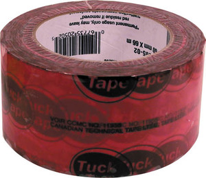 "Toolway 220502 2.5"" x 216' SHEATHING TAPE"