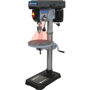 "King Canada KC-116N 13""16-Speed 7.5Ah Bench Drill Press with Laser"