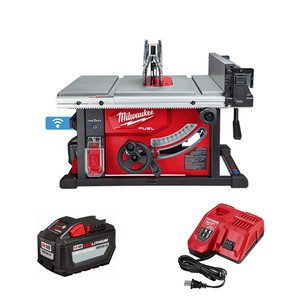 "Milwaukee 2736-21HD M18 FUEL 8-1/4"" Table Saw w/One-Key Kit"