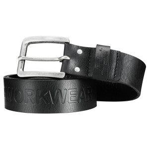 Snickers Leather Belt (Black) (SNI-90340400)