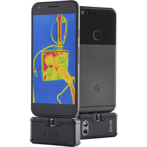 Flir Systems FLIR-ONEPROLT-MICRO-USB FLIR ONE PRO LT Thermal Imaging Camera Attachment for Android