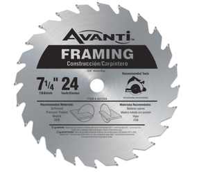 Freud AVANTI 7-1/4 X 24T Framing Blade