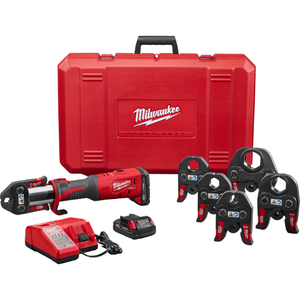 "Milwaukee 2773-22 M18 FORCE LOGIC Press Tool Kit with ½"" – 2"" Jaws"