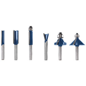 Bosch RBS006 6 Piece Multi-Purpose Set 1/4 In.-Shank