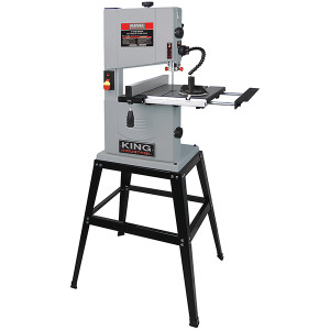 "King Canada KC-1002C 10"" Wood Bandsaw With Stand"