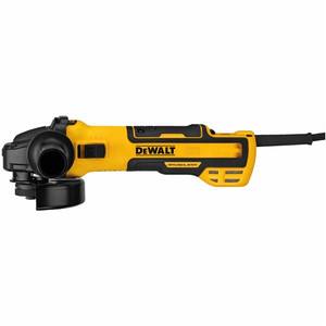 "DeWALT DWE43231VS 5"" Brushless Variable Speed Slide Switch Small Angle Grinder w/ Kickback Brake & Pipeline Cover"