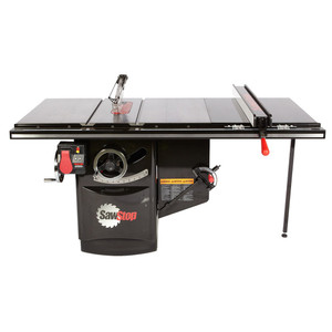 "Sawstop SAW-ICS31230-36 ICS 3HP 230V Industrial Cabinet Saw 36"" T-Glide Fence System"