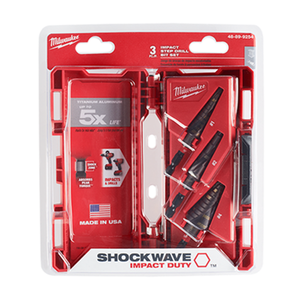 Milwaukee 48-89-9254 SHOCKWAVE Impact Duty 3PC KIT (#1, #2, #4)
