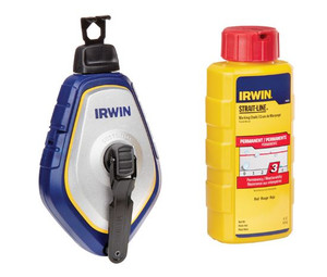 Irwin IRW-1932888 Speedline Pro Chalk Reel + Red