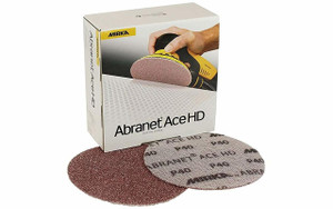 Mirka Abrasives MIR-AH-241-060 25Pk 6In 60Gr Abranet Hd Disc