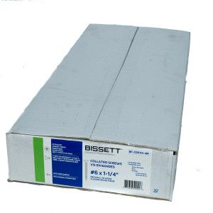 Bissett BIS-BF-CDS114-4M #6 X 1-1/4In Collated Drywall
