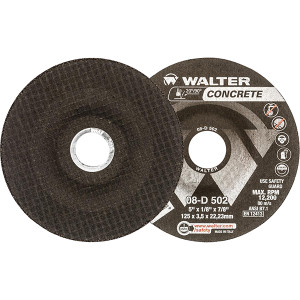 "Walter Surface Technologies WAL-08D502 5In Concrete Cut Disc (1/8"")"