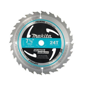 Makita A-94839 7-1/4X24T Carbide‑Tipped Circular Saw Blade