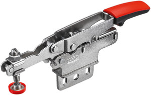 Bessey BES-STC-HV20 Horizontal Auto-Adjust Toggle Nickel Plated Clamp Vertical Flange