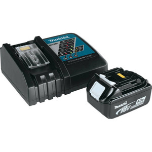 Makita Y-00284 DC18RC Charger + 1X 4AH Battery Package