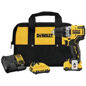 DeWALT DCD701F2 XTREME 12V MAX Brushless 3/8IN Cordless Drill/Driver 2x 2.0Ah Kit