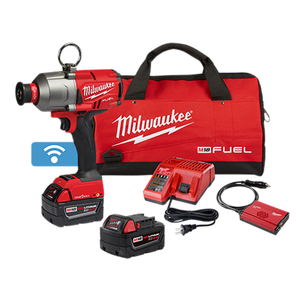 "Milwaukee 2865-22 M18 FUEL 7/16"" Hex Utility High Torque Impact Wrench w/ ONE-KEY 2x 5.0ah Kit"