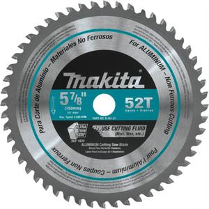"Makita A-96126 5‑7/8"" 52T Carbide‑Tipped Saw Blade, Aluminum"
