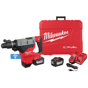 "Milwaukee 2718-22HD M18 FUEL 1-3/4"" SDS MAX Rotary Hammer Kit w/ (2) 12.0Ah Batteries"