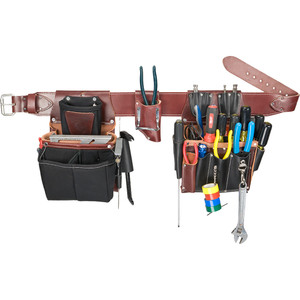 Occidental OCC-5590x 5590 - Commercial Electrician's Tool Bag Set