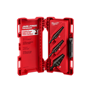 Milwaukee 48-89-9221 Step Drill Bit Set - 3PC