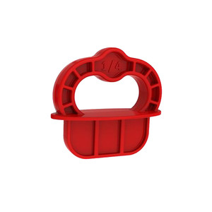 "Kreg Tool KREG-DECKSPACER-RED Deck Jig 1/4"" Spacer Rings - 12 Pack"