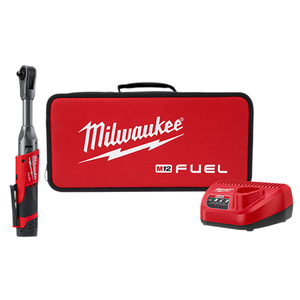 Milwaukee 2560-21 M12 Fuel 3/8In Extended Reach Ratchet CP2.0 Kit