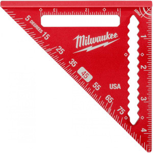 "Milwaukee MLSQ040 4-1/2"" Trim Square"