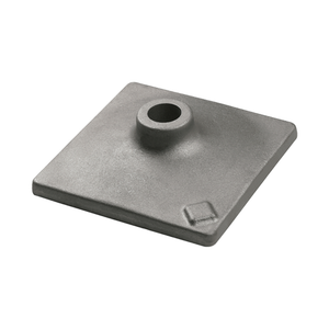 Bosch HS2125 8 In. x 8 In. Tamper Plate 1-1/8 In. Hex Hammer Steel