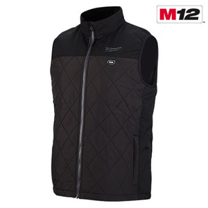 Milwaukee 303B-21 M12 Black Heat Vest Axis