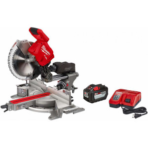 "Milwaukee 2739-21HD M18 FUEL 12"" Dual Bevel Sliding Compound Miter Saw - Kit"