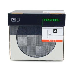 Festool FES-RUBIN2KIT-50 Rubin 2 Abrasives Variety Kit for RAS 115 Sanders (50 Pieces)